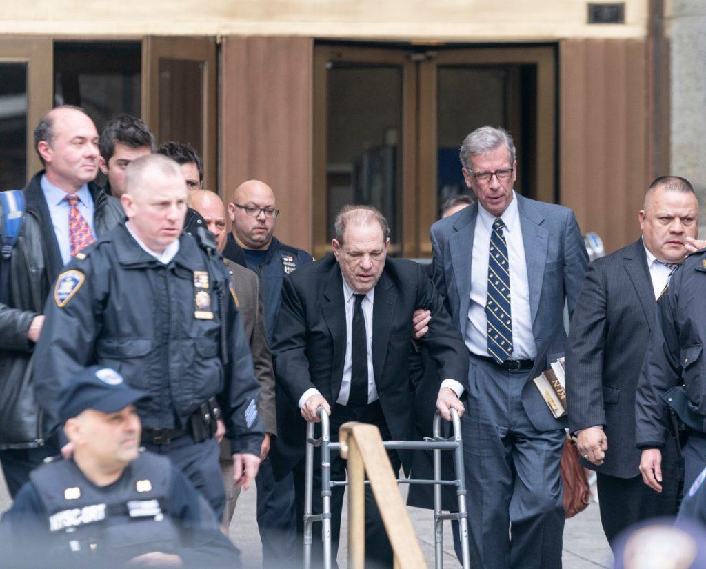 Harvey Weinstein, acusado de 11 nuevos delitos sexuales en Los Angeles