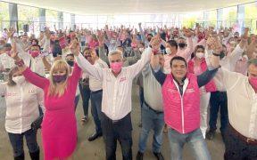 Cristóbal Arias informó que no renuncia a la candidatura del PES a la gubernatura de Michoacán, pese a los diferencias con el partido.