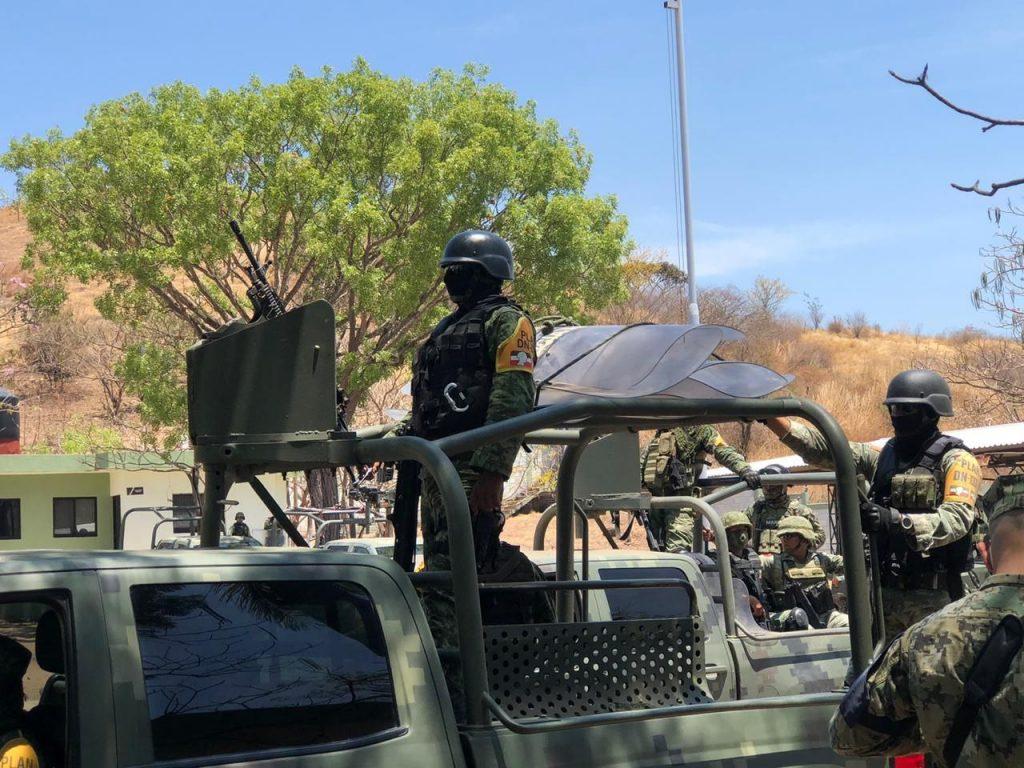 Despliegan operativo de inteligencia en Aguililla, tras enfrentamientos del CJNG y Cárteles Unidos