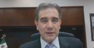 Nadie va a amedrentar al INE, ni siquiera con amenazas directas: Lorenzo Córdova