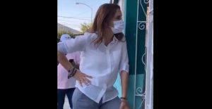 Clara Luz, de Morena, presume vacunas como logro del presidente