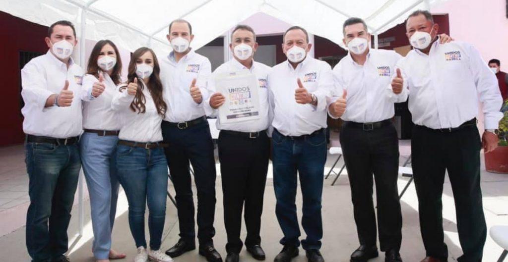 PAN, PRI y PRD exigen al gobierno frenar persecución contra candidatos