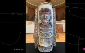 México recupera urna maya elaborada hace mil años; por medio siglo estuvo en Michigan