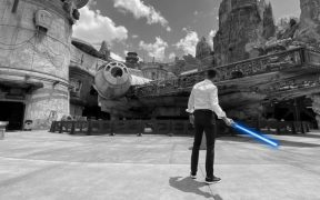 Disney creó un sable láser retráctil como los de las películas de Star Wars