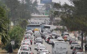 Adultos mayores bloquean avenida en Tamaulipas para exigir vacuna contra Covid