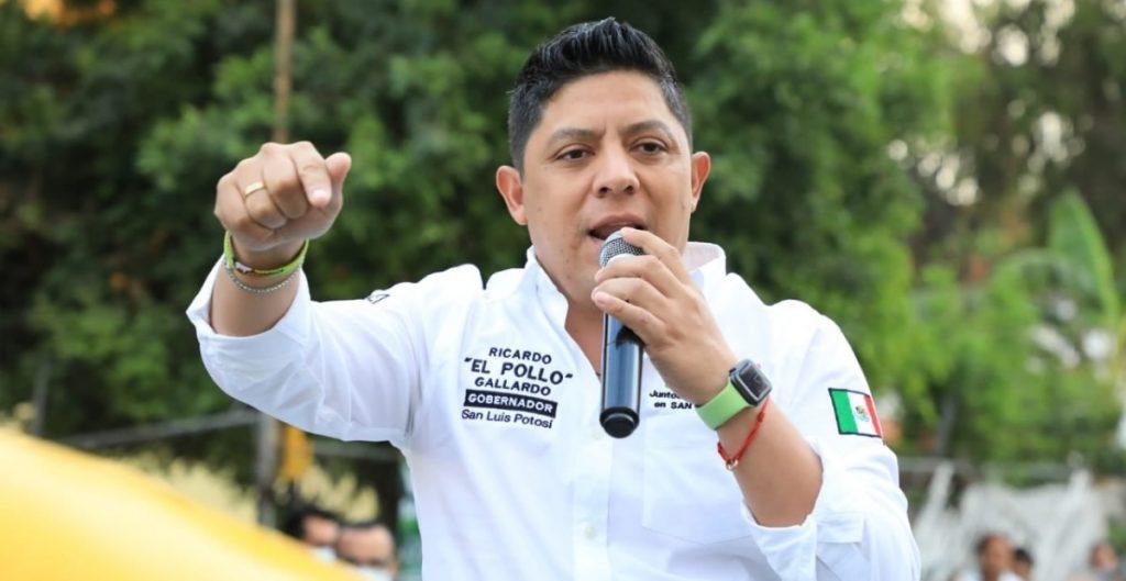 Delgado respalda a Gallardo en SLP; le agradece por apoyar iniciativas de AMLO en San Lázaro
