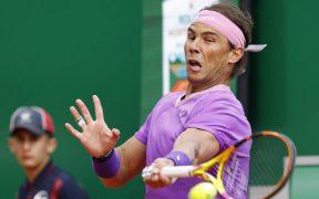 Nadal se impuso a Dimitrov y está en cuartos de Montecarlo. Foto: Reuters