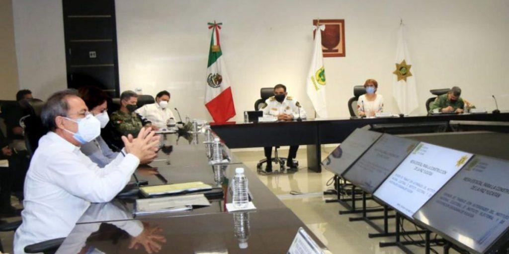 Se hará un operativo especial en Yucatán de seguridad pública y sanitaria para proteger la jornada electoral del próximo 6 de junio.