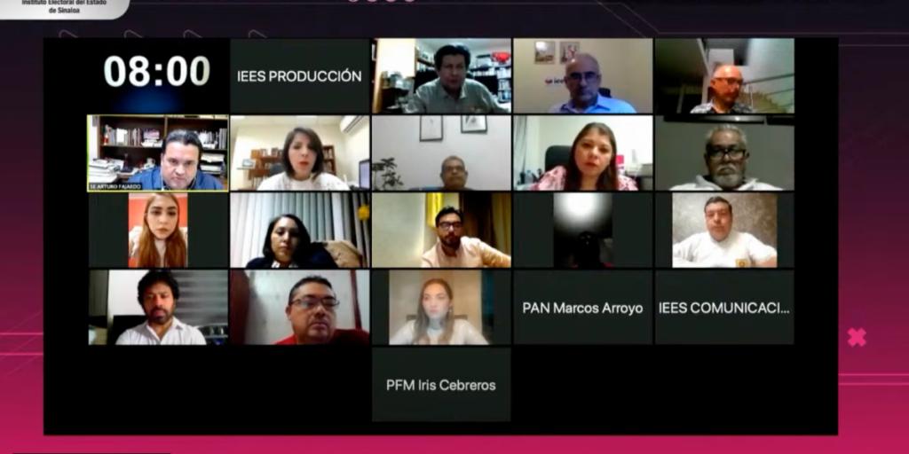 El IEES confirmó que el 22 de abril será el primer debate de los candidatos a la gubernatura de Sinaloa, bajo medidas de seguridad sanitaria