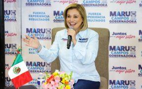 Maru Campos, candidata del PAN, enfrenta nueva audiencia de imputación