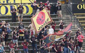 Aficionados disfrutan un partido de Atlanta United. Foto: Reuters