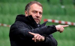 Hansi Flick informó al Bayern que dejará de ser su técnico. Foto: EFE