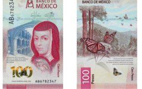 Billete de 100 pesos gana el premio 'Billete Bancario del Año', de la International Bank Note Society