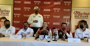Marina del Pilar, de Morena, considera no participar en los próximos 2 debates en BC