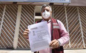 Morena denuncia a candidato en Guerrero del PRI-PRD por despensas