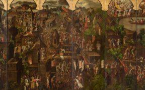 El Museo del Prado restaura y exhibe un biombo sobre la Conquista de México