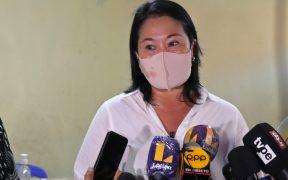 """Keiko Fujimori denuncia un """"fraude sistemático"""" en las elecciones de Perú; votación favorece a Pedro Castillo"""