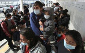 """8 mil 387 personas entraron a EU tras eliminación del programa """"Quédate en México"""""""