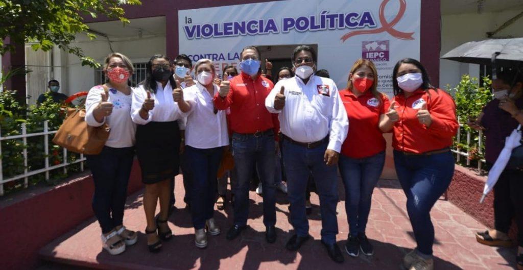 Candidato de RSP en Tabasco da positivo a Covid-19 y renuncia a su candidatura