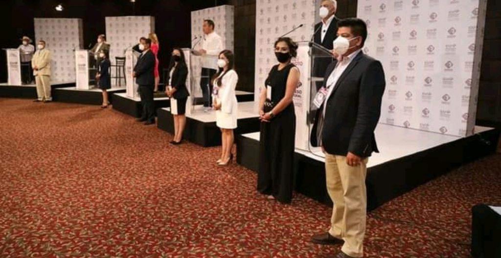 Inseguridad, el mayor problema de Michoacán, reconocen candidatos en el primer debate sin Raúl Morón