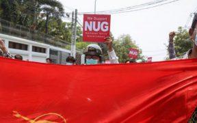 Manifestantes rompen acuerdo de cese a la violencia en Birmania