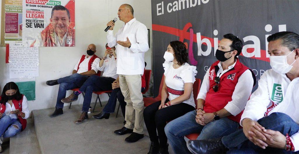 Exgobernadores salen en apoyo de candidatos de sus partidos