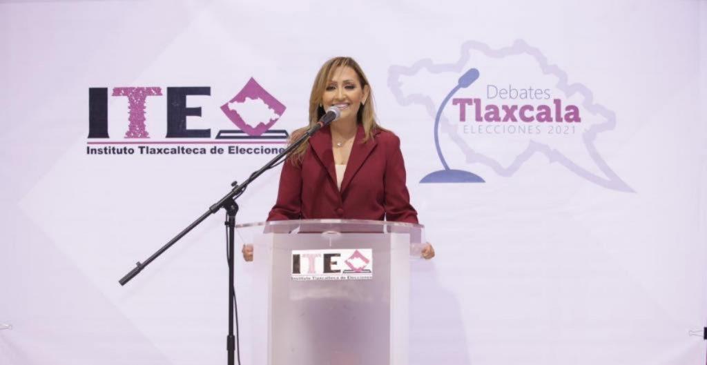 Lorena Cuéllar, candidata de Morena a la gubernatura de Tlaxcala, no cometió actos anticipados de campaña: TET