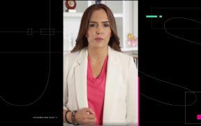 Clara Luz Flores se disculpa por negar conocer al líder de NXIVM