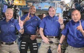 La primera misión comercial de SpaceX y NASA amerizará el miércoles