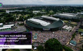 La capacidad para el torneo puede aumentar. (Foto: @Wimbledon).