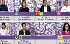 Sin representación de Morena, debaten candidatos a gubernatura de Guerrero
