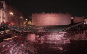 Secretaría de Cultura revela daños menores en Templo Mayor