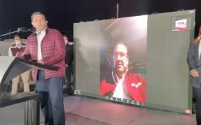 Cruz Pérez Cuéllar, de Morena, libra proceso de desafuero y arranca campaña en Chihuahua