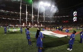 El Tri enfrentará a Honduras en el Mercedes-Benz Stadium de Atlanta. (Foto: @MBStadium).