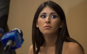 Paola Pliego, en conferencia de prensa. (Foto: Mexsport).