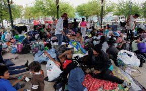 Migrantes saturan campamento en Tamaulipas; MSF denuncia condiciones miserables y peligros