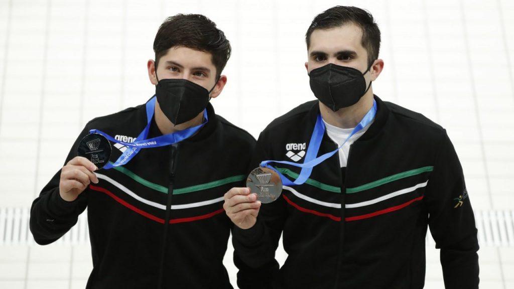 Willars y García obtuvieron el segundo lugar en la final de 10m sincronizados. (Foto: Reuters).