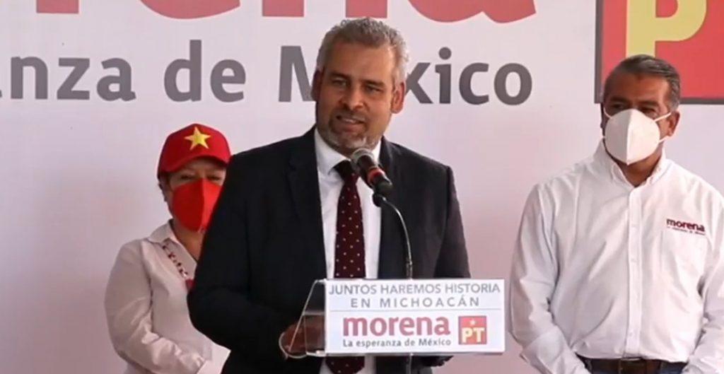 Morena registra candidatura de Alfredo Ramírez al gobierno de Michoacán