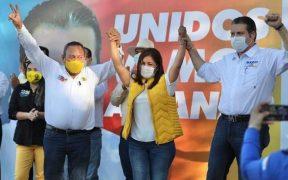 Diputada de Morena se une a candidato del PRI al gobierno de Sinaloa
