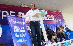 """""""El 40% del país está en manos de la delincuencia"""", dijo Marko Cortés en Zacatecas"""