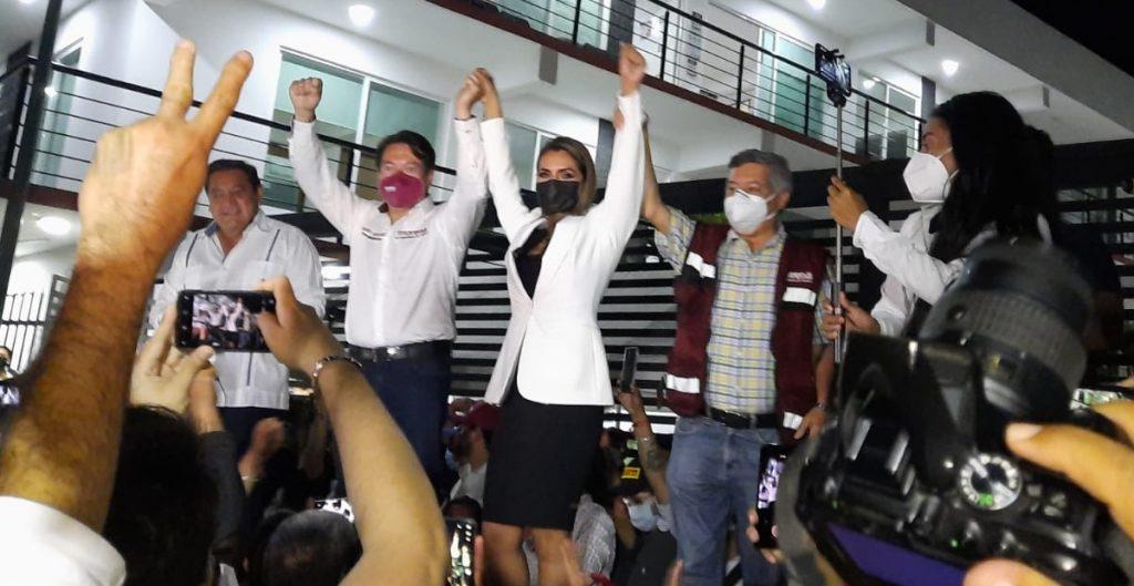 Morena registra a Evelyn Salgado como candidata al gobierno de Guerrero