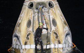 Misión comercial de SpaceX y NASA ameriza en el Golfo de México tras viaje al espacio