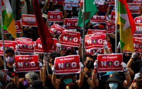 Al menos 6 muertos en Birmania tras tiroteo de las fuerzas de seguridad
