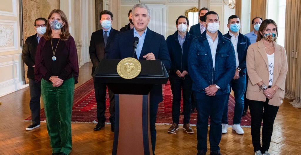 Tras días de protestas, el presidente Iván Duque retira la reforma tributaria en Colombia