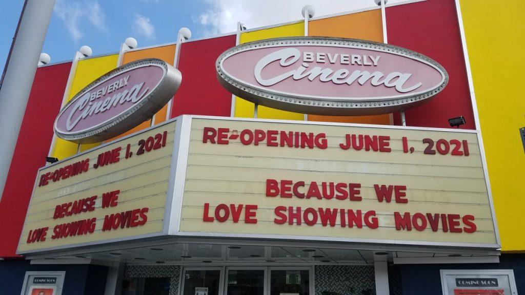 El cine de Quentin Tarantino en Los Ángeles prepara su reapertura para el 1 de junio