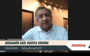 Diputado Saúl Huerta, acusado de violación de un menor, renuncia formalmente a reelegirse
