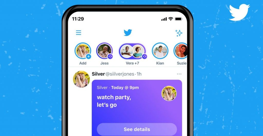 Twitter Space permitirá la monetización en la opción de chat en vivo