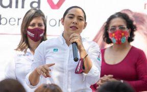 Indira Vizcaíno, candidata a la gubernatura de Colima cometió actos anticipados de campaña: TEPJF