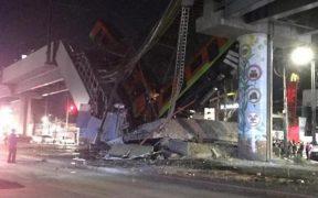Muertos y heridos por colapso del Metro