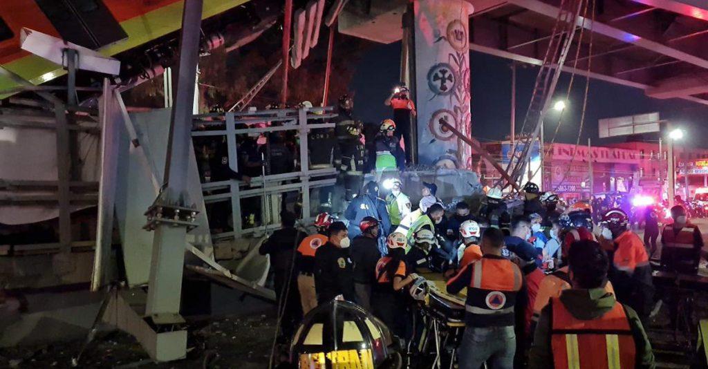 Habilitan los hospitales generales de Tláhuac e Iztapalapa para trasladar a heridos en colapso de Línea 12 del Metro